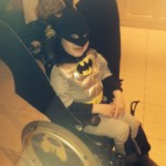 Spooking up wheelchairs for Hallowe'en