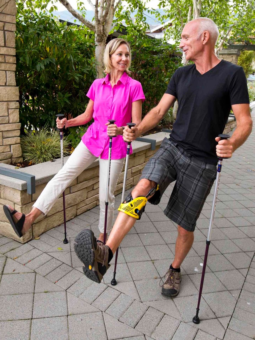 The ACTIVATOR poles. Walk your way to better health. urbanpoling.com