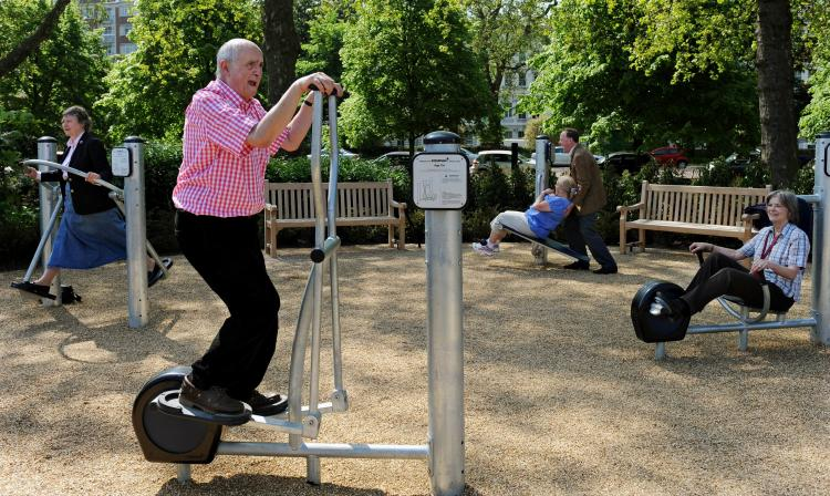 Park Fitness for seniors in Nysa. A group of senior citizens from Nysa strives for creation of special fitness area in the city park for their peers.