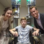 Robotic device aids research for children with brain injury