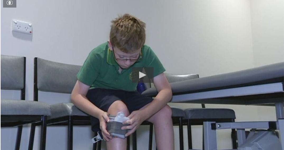A new trial in Adelaide of an electronic device aimed at helping people walk and live with Cerebral Palsy.