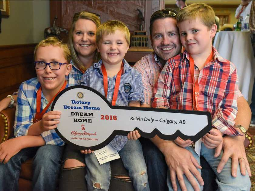 Guess Who Won The Rotary Dream Home At The Calgary