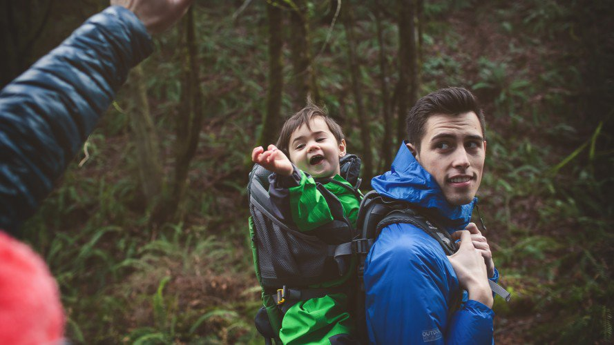 Raising Rippers. Hike it Baby has more than 125,000 families in 277 cities in the U.S. alone, with 3,600 free nature walks every month. Photo Ashley Scheider