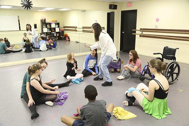 Ballet for all kids special needs dance instruction moves to a new facility in Agoura Hills CA