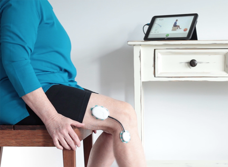 Home monitored rehab following total knee replacement | Braceworks