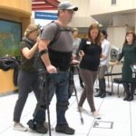 Robotic exoskeleton a step towards mobility for Glenrose patients