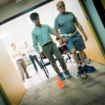 Stroke patients improve their gait with new shoe attachment, early study shows