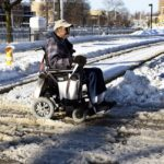 Record snow creates 'nightmare' for people with accessibility issues