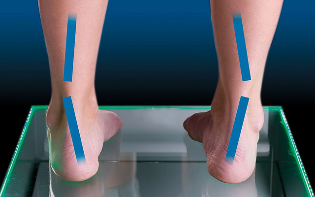 supination of the foot