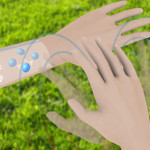 E-skin lets you manipulate objects in real and virtual worlds