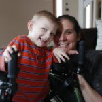 Dancer's path offers hope of walking for Orchard Park boy
