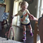 4-year-old Michigan girl with cerebral palsy takes first steps: 'I'm walking!'