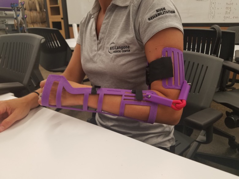 NYU collaboration aims to help young cerebral palsy patients get